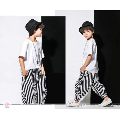 Set quần áo HipHop bé trai Xuân - Hè