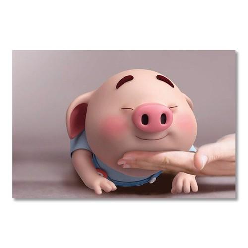 Tranh Canvas The Pig 7 40x60 Alan