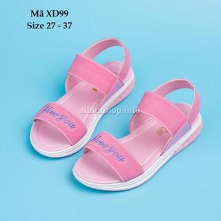 Sandal bé gái đi học - Sandal bé gái đi biển XD99 - XD99HONG thumbnail