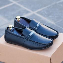 Giày lười nam – Giày lười nam da mềm khóa ngang