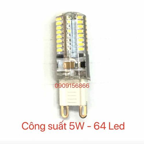 Bóng led G9 - 5w - 64 led