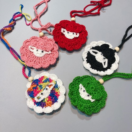 Túi len móc đựng tỏi cho bé yêu hình chú Cừu vui vẻ cực xinh - 7632874 , 18519381 , 15_18519381 , 55000 , Tui-len-moc-dung-toi-cho-be-yeu-hinh-chu-Cuu-vui-ve-cuc-xinh-15_18519381 , sendo.vn , Túi len móc đựng tỏi cho bé yêu hình chú Cừu vui vẻ cực xinh