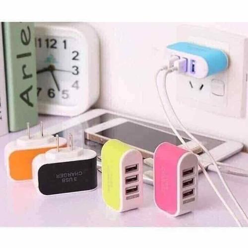 Ổ CẮM USB 3 CỔNG