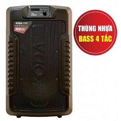 Loa karaoke mini di động cao cấp KODA KD-1550 bass 4 tấc loa du lịch âm thanh cực hay + Tặng micro