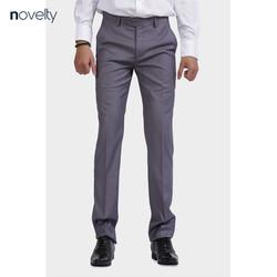 Quần tây Novelty 0ply regular fit màu xám NQTMMNMPRR1801410
