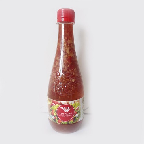 Giấm tỏi ớt Kim Ngân 450ml