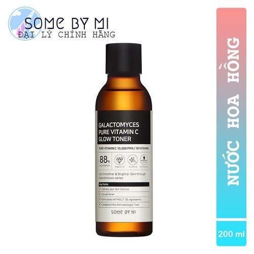 Nước Hoa Hồng Dưỡng Trắng Some By Mi Galactomyces Pure Vitamin C Glow Toner