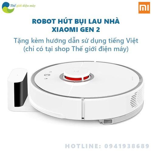 Robot hút bụi lau sàn Xiaomi Gen 2 Roborock vừa hút bụi vừa lau nhà - Bảo hành 12 tháng - Shop Thế giới điện máy - 8928525 , 18544536 , 15_18544536 , 12500000 , Robot-hut-bui-lau-san-Xiaomi-Gen-2-Roborock-vua-hut-bui-vua-lau-nha-Bao-hanh-12-thang-Shop-The-gioi-dien-may-15_18544536 , sendo.vn , Robot hút bụi lau sàn Xiaomi Gen 2 Roborock vừa hút bụi vừa lau nhà -