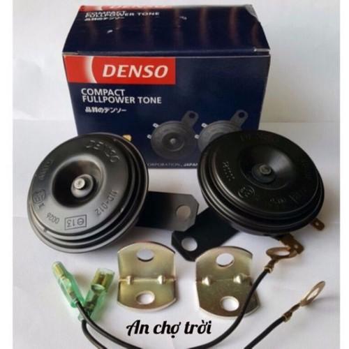 còi kèn denso sên đĩa 1 đôi hàng chính hãng indonesia