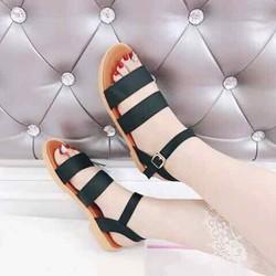 Giày SANDAL nữ đế bệt 2 quai ngang
