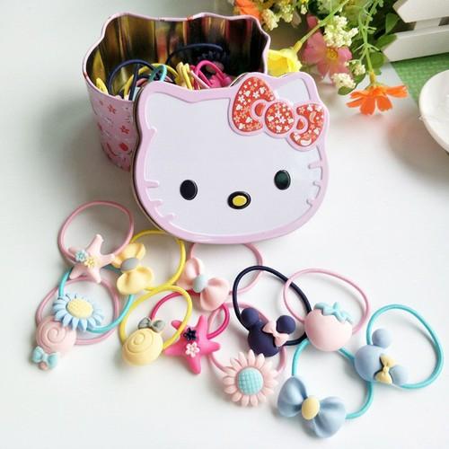 Hộp Chun 40 DÂY Buộc Tóc HeLLo Kitty Dành Cho Bé - 7634005 , 18541299 , 15_18541299 , 80000 , Hop-Chun-40-DAY-Buoc-Toc-HeLLo-Kitty-Danh-Cho-Be-15_18541299 , sendo.vn , Hộp Chun 40 DÂY Buộc Tóc HeLLo Kitty Dành Cho Bé