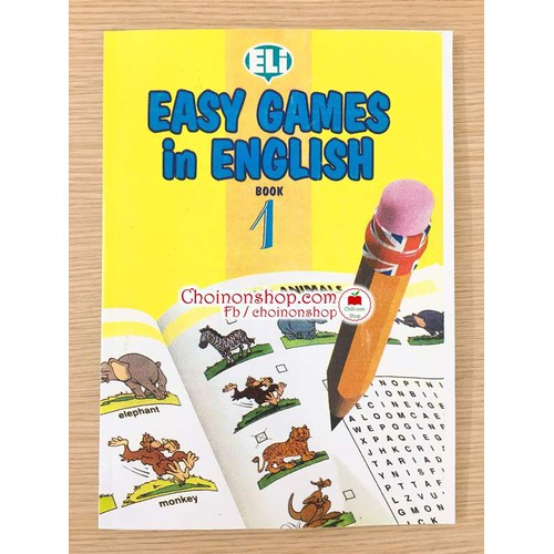 Sách Easy Games in English 1