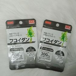 Fucoidan viên tảo nâu Daiso gói 20 ngày