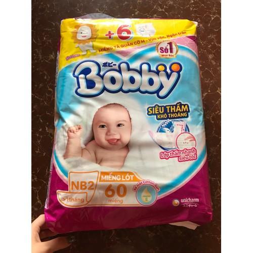 Miếng lót Bobby newborn 2 60 miếng tặng 6 tã quần size M - 7634185 , 18541502 , 15_18541502 , 115000 , Mieng-lot-Bobby-newborn-2-60-mieng-tang-6-ta-quan-size-M-15_18541502 , sendo.vn , Miếng lót Bobby newborn 2 60 miếng tặng 6 tã quần size M