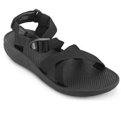 Giày sandal nam hiệu Vento mã số NV7606G quai dù màu xám