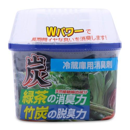 Hộp khử mùi tủ lạnh Nagara Nhật bản tinh chất trà xanh 180gr