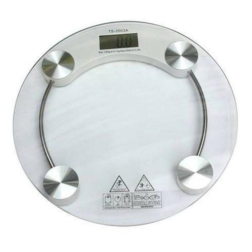 Cân sức khỏe Personal mặt kính tròn - cân sức khoẻ tròn 180kg kính cường lực trong suốt cân điện tử bền đẹp - 180kg - Cân Sức Khỏe Kính Cường Lực Tròn loại cao cấp - cân sức khỏe loại xịn - cân sức kh
