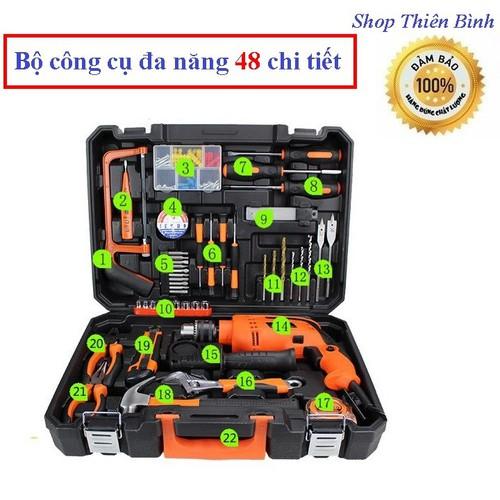 Bộ dụng cụ đa năng 48 chi tiết dụng cụ sửa chữa xe máy bộ tua vít vặn ốc - 7634053 , 18541353 , 15_18541353 , 1500000 , Bo-dung-cu-da-nang-48-chi-tiet-dung-cu-sua-chua-xe-may-bo-tua-vit-van-oc-15_18541353 , sendo.vn , Bộ dụng cụ đa năng 48 chi tiết dụng cụ sửa chữa xe máy bộ tua vít vặn ốc