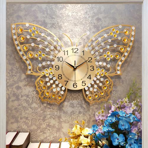 Đồng hồ trang trí hình bướm - 8924731 , 18538563 , 15_18538563 , 1650000 , Dong-ho-trang-tri-hinh-buom-15_18538563 , sendo.vn , Đồng hồ trang trí hình bướm