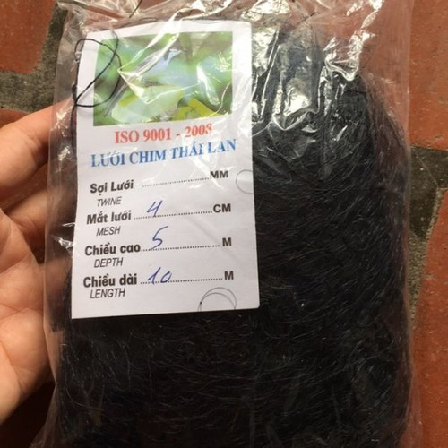 Lưới bẫy chim Thái lan dài 10m mắt lưới 4cm