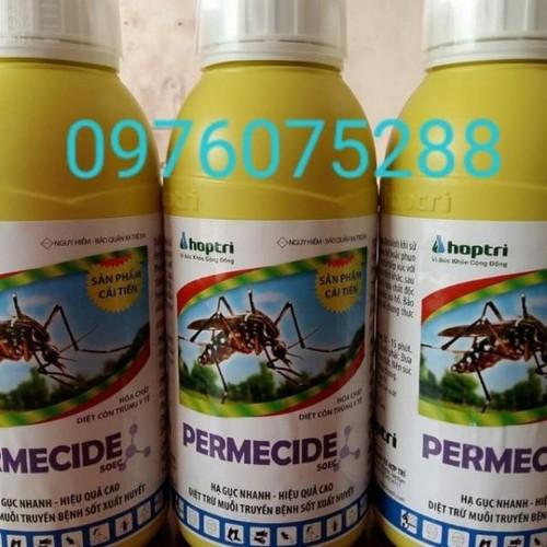 Combo 3chai Permecide diệt muỗi loại chai 1 lít