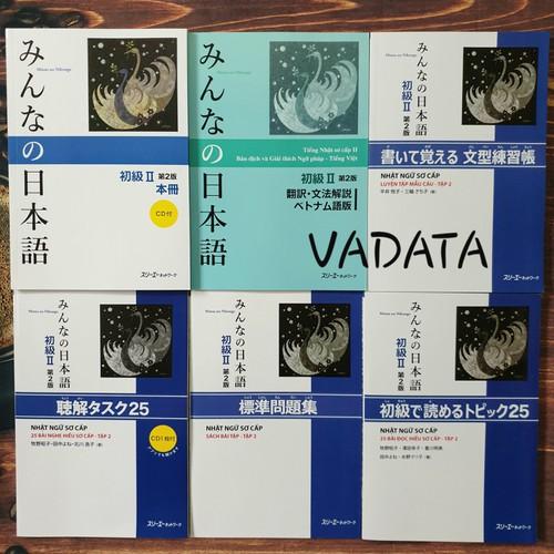 Sách - Combo 6 Cuốn Minna No Nihongo Tập 2 Trình Độ N4 - Phiên Bản Mới - 8918001 , 18529146 , 15_18529146 , 237000 , Sach-Combo-6-Cuon-Minna-No-Nihongo-Tap-2-Trinh-Do-N4-Phien-Ban-Moi-15_18529146 , sendo.vn , Sách - Combo 6 Cuốn Minna No Nihongo Tập 2 Trình Độ N4 - Phiên Bản Mới