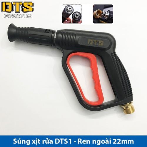 Súng xịt - súng rửa xe áp lực cao DTS1 Ren ngoài 22mm