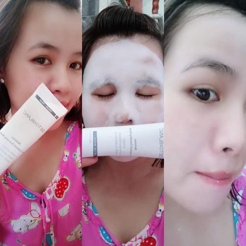 mặt nạ sủi bọt thải độc detox mask blanc