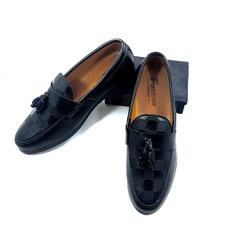 Giày lười in chuông , đế cao su , khâu chắc chắn số 38- 43