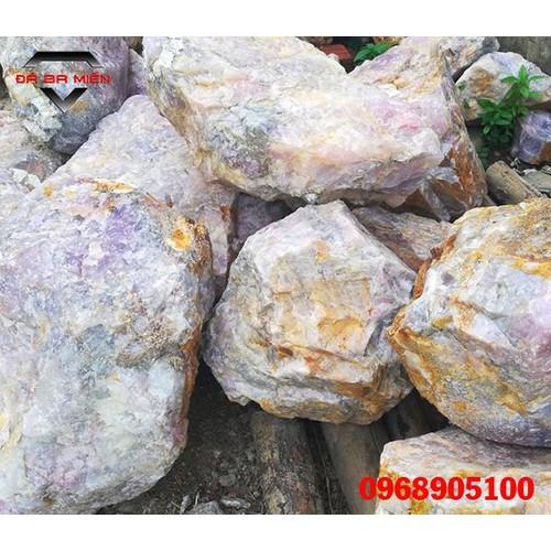 Năng lượng hữu ích Đá thạch anh hồng thô Viêt Nam