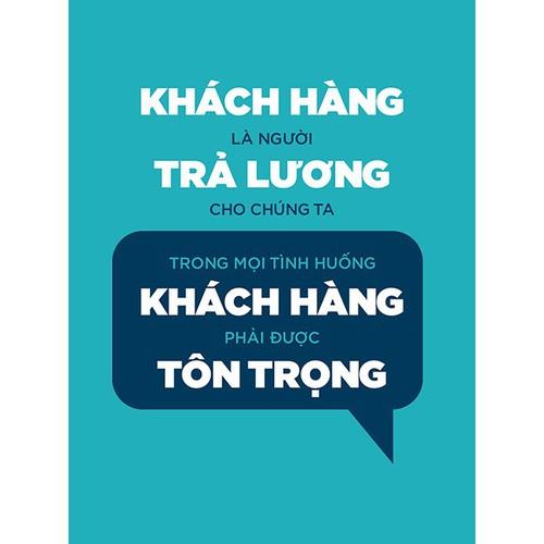 Tranh Treo tường VTC slogan CANVAS-TYPO-20 KT 45 x 60 cm