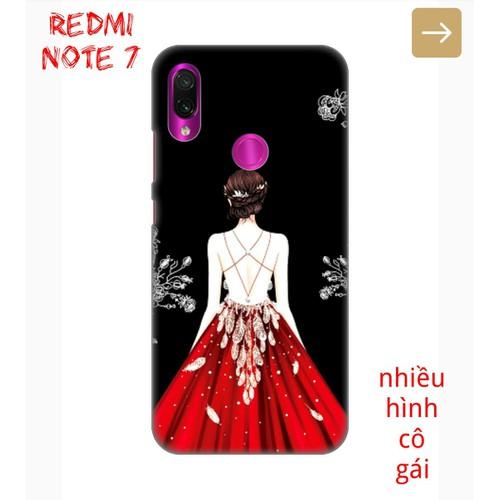 Ốp Lưng Xiaomi Redmi Note 7 Phía Sau Một Cô Gái
