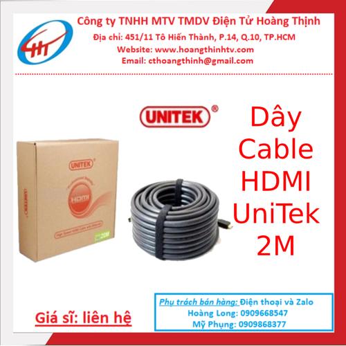 Cáp HDMI Unitek 2m Tốt