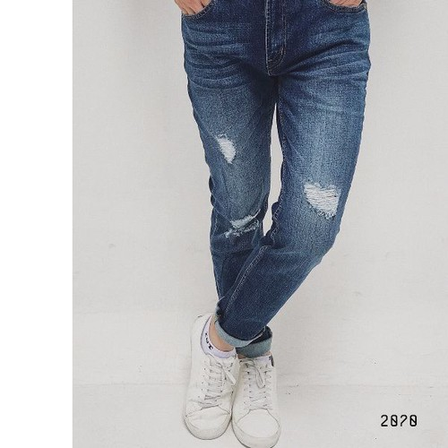 quần jeans nam kiểu rách - 8923426 , 18536799 , 15_18536799 , 169000 , quan-jeans-nam-kieu-rach-15_18536799 , sendo.vn , quần jeans nam kiểu rách