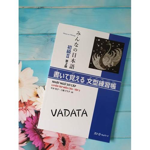 Sách - Minna no Nihongo Luyện Tập Mẫu Câu Tập 2 - Phiên Bản Mới