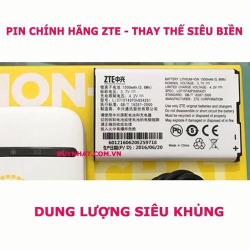 Pin 1500mAh - Pin Chuyên Dùng Thay Thế ZTE MF65
