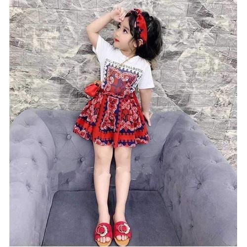 Váy bé gái thổ cẩm tặng kèm Turban - 8922775 , 18535807 , 15_18535807 , 59000 , Vay-be-gai-tho-cam-tang-kem-Turban-15_18535807 , sendo.vn , Váy bé gái thổ cẩm tặng kèm Turban
