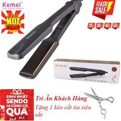 Máy tạo kiểu tóc Kemei KM 329 , máy ép tóc KM 329 , Có Video thực tế