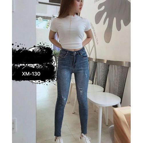 quần jeans Phong cách điệu mới