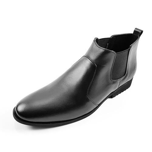 Giày Boot Nam Da Bò Tấm Cổ Lửng Ensado CL06TB