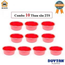 Combo 10 Thau Nhựa Sâu 2T0 Duy Tân Phi 20 x 7 cm No.H045