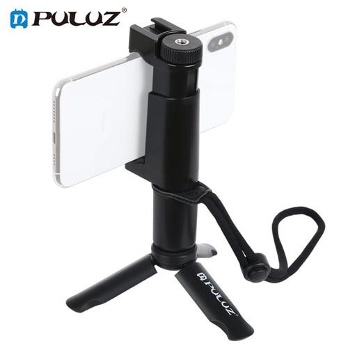 Tay cầm điện thoại chống rung F-Mount đế 3 chân Puluz - Hàng Chính Hãng