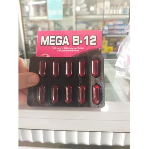 MEGA B12- COMBO 5 VỈ DINH DƯỠNG DÀNH CHO GÀ ĐÁ COMBO 5 VỈ.