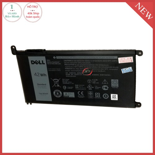 Pin dell Inspiron 5568  42 Wh