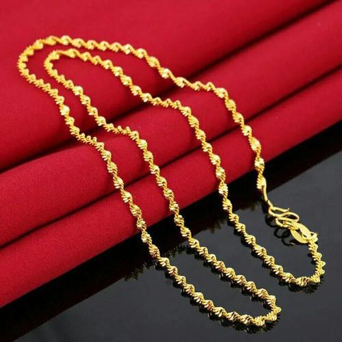 dây chuyền dát vàng 18k kiểu xoắn - 8919267 , 18531282 , 15_18531282 , 150000 , day-chuyen-dat-vang-18k-kieu-xoan-15_18531282 , sendo.vn , dây chuyền dát vàng 18k kiểu xoắn