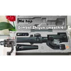 Gimbal cầm tay chống rung cho điện thoại Zhiyun Smooth 4