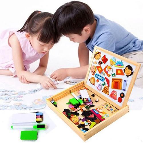 Bộ ghép hình nam châm bằng gỗ thông minh cho bé yêu - Đồ chơi lắp ráp - 9000932 , 18654337 , 15_18654337 , 157000 , Bo-ghep-hinh-nam-cham-bang-go-thong-minh-cho-be-yeu-Do-choi-lap-rap-15_18654337 , sendo.vn , Bộ ghép hình nam châm bằng gỗ thông minh cho bé yêu - Đồ chơi lắp ráp