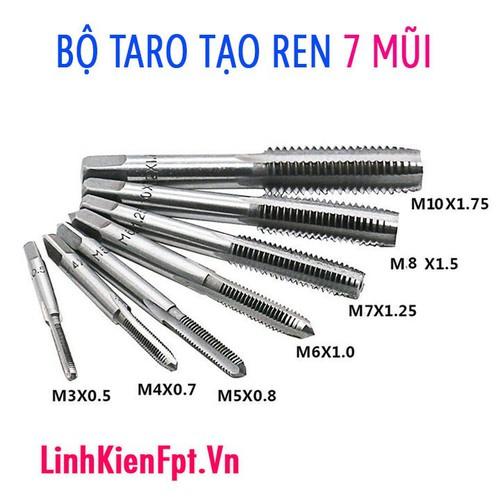 Bộ Taro tạo ren 7 mũi