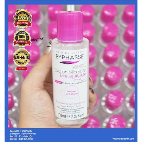 Tẩy Trang Byphasse Solution Micellaire Face