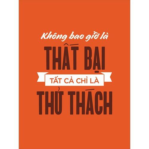 Tranh Treo tường VTC slogan Không Bao Giờ Là Thất Bại Tất Cả Chỉ Là Thử Thách CANVAS-TYPO-12 KT 45 x 60  cm - 8923826 , 18537528 , 15_18537528 , 300000 , Tranh-Treo-tuong-VTC-slogan-Khong-Bao-Gio-La-That-Bai-Tat-Ca-Chi-La-Thu-Thach-CANVAS-TYPO-12-KT-45-x-60-cm-15_18537528 , sendo.vn , Tranh Treo tường VTC slogan Không Bao Giờ Là Thất Bại Tất Cả Chỉ Là Thử Th